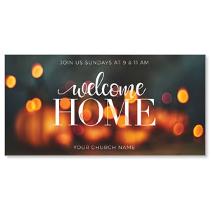 "Welcome Home Lights 11"" x 5.5"" Oversized Postcards"