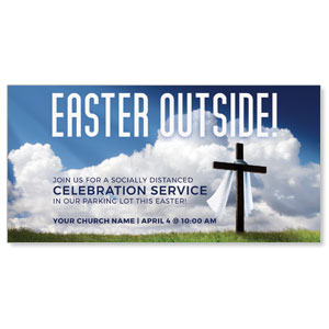 "Easter Outside 11"" x 5.5"" Oversized Postcards"