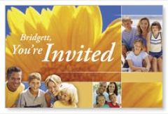 Summer Invited PersonalizedCard