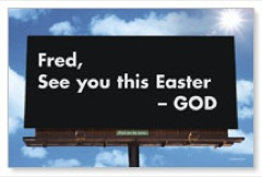 Easter Billboard PersonalizedCard