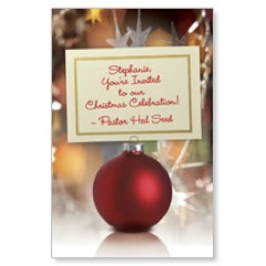 Ornament Invitation PersonalizedCard