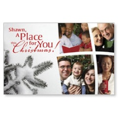 Place for Christmas PersonalizedCard