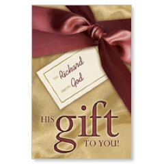 Gold Gift PersonalizedCard