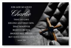 John 3:16 PersonalizedCard