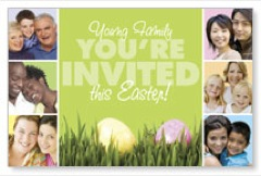 Easter Squares PersonalizedCard