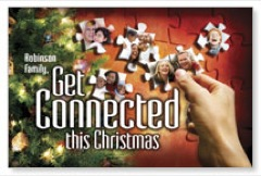 Christmas Connected PersonalizedCard