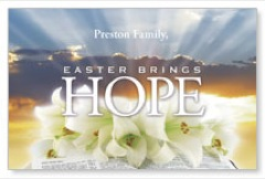Easter Brings Hope PersonalizedCard