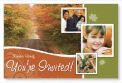 Fall Path PersonalizedCard