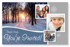 Winter Path PersonalizedCard