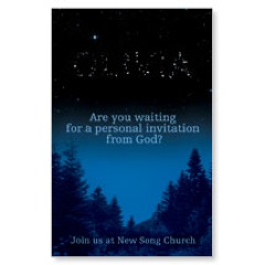 Invitation in the Stars PersonalizedCard