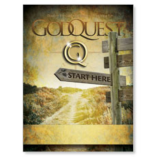 GodQuest Sign Post Poster