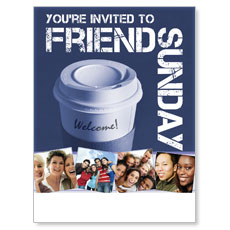 Wow! Sunday Friend Sunday Poster