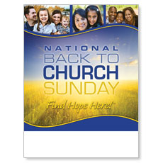 Back To Church Sunday 2012 Poster