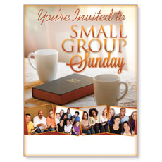 Wow! Sunday Small Group Sunday Poster