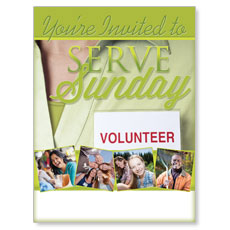 Wow! Sunday Serve Sunday Poster