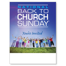 Back To Church Sunday 2013 Poster