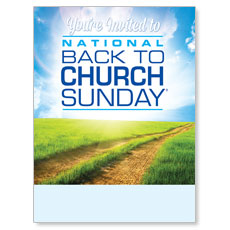 Back to Church Sunday 2014 Poster