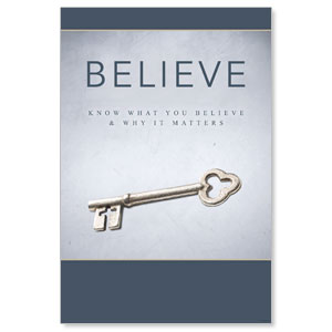 Believe Now Live The Story Posters