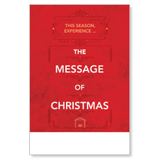 The Message of Christmas Poster