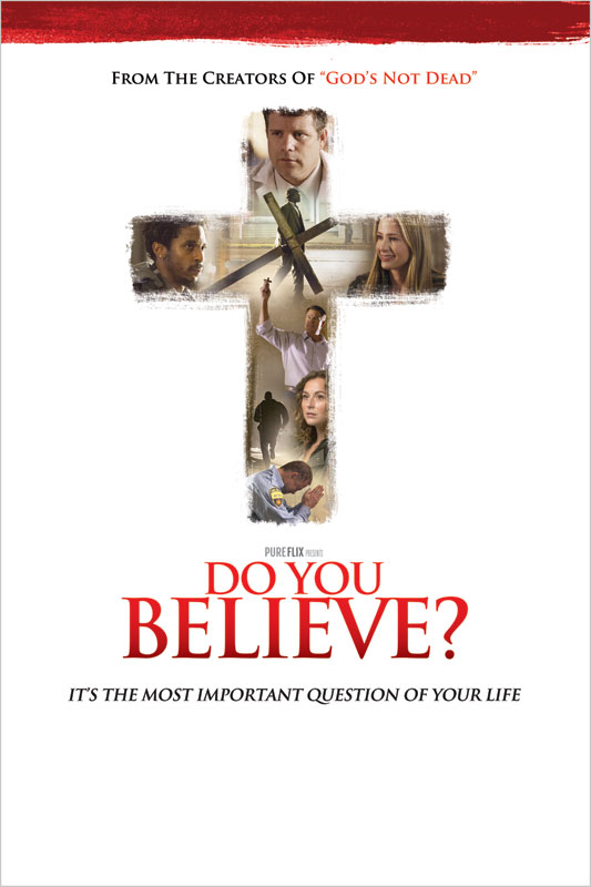 do you believe poster - church invitations