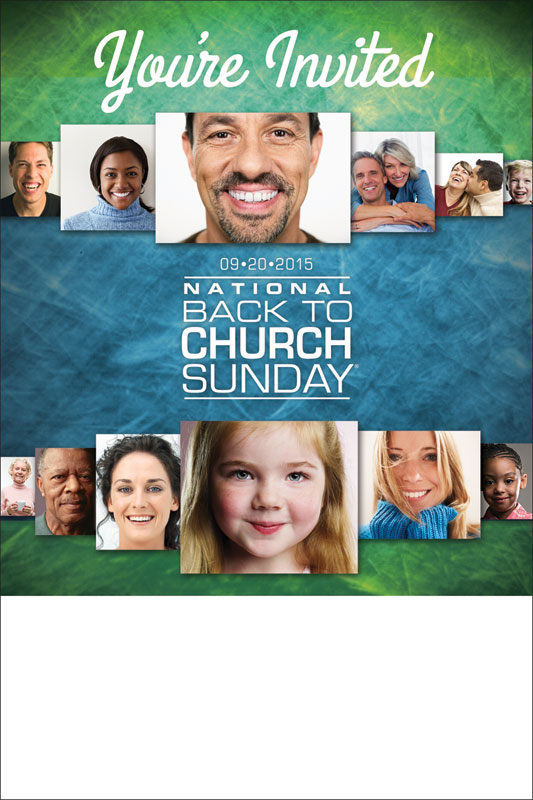 Back To Church Sunday 2015 Poster Church Invitations