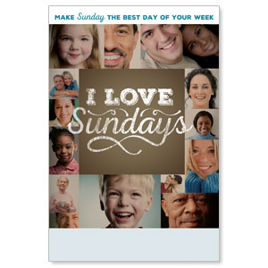I Love Sundays Posters