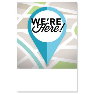 We Are Here Posters