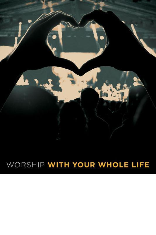 Worshiper Heart Poster