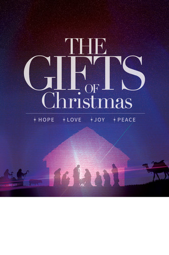 the gifts of christmas advent poster