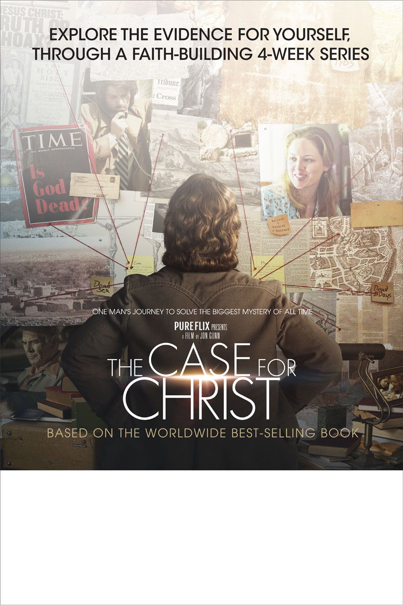 The Case For Christ Movie Poster Church Invitations