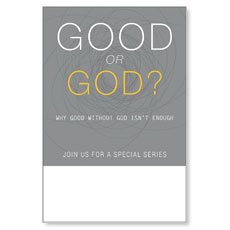 Good or God? Poster