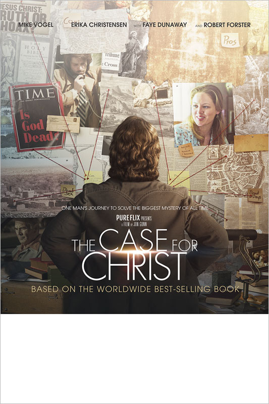 The Case For Christ Movie Event Poster Church Invitations