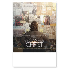 The Case for Christ Movie Event Poster
