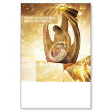 UMC Christmas Gold Poster