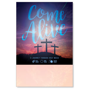 Come Alive Easter Journey Posters