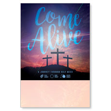 Come Alive Easter Journey Poster
