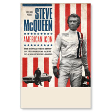 Steve McQueen Icon Poster