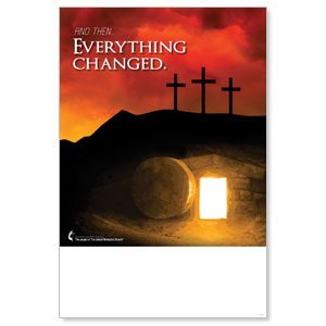 UMC Easter Everything Changed Posters