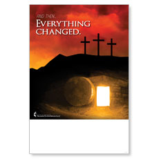 UMC Easter Everything Changed Poster