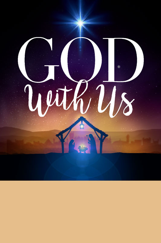 Posters, Christmas, God With Us Advent, 12 x 18