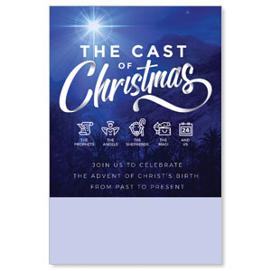 The Cast of Christmas Posters
