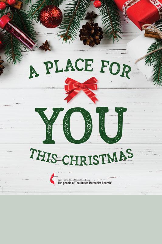 Christmas Poster.Umc Place For You Christmas