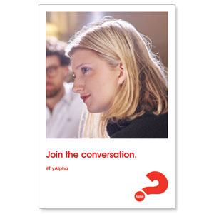 Alpha Join The Conversation Posters