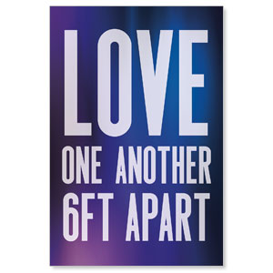 Aurora Lights Love One Another Posters