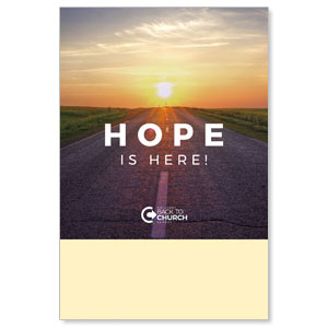 BTCS Hope Is Here Posters