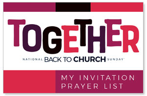 BTCS Together Prayer List Cards SpecialtyItems