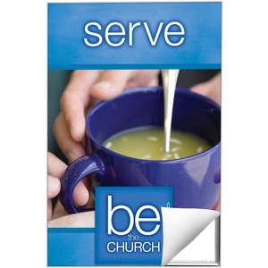 Be The Church Serve 24 x 36 Quick Change Art
