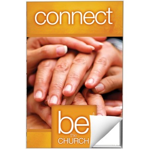 Be The Church Connect 24 x 36 Quick Change Art
