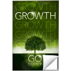 Deeper Roots Growth Wall Art