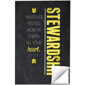 Slate Stewardship Wall Art